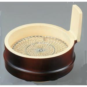 和食器 Φ13cm 越前すす竹片手桶 ABS樹脂 f6-552-2