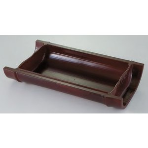 和皿 越前すす竹(浅)盛器 ABS樹脂