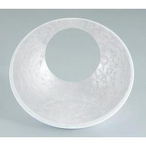 和皿 日月かまくら盛器 ホワイトアクア(大) ABS樹脂 f6-566-4
