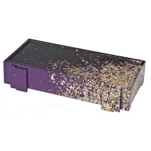 和食器 ABS 9.5寸足付安城盛器 金パール f5-478-4