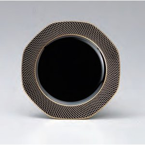 18cm八角プレート 金銀武蔵野 耐熱ABS樹脂 食器洗浄機対応