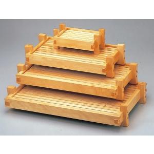 木製 あぜくら両面盛込器 目皿付 底面朱 尺4 f6-746-23