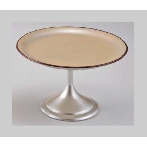 和食器 5.5寸高月盛皿 黄金銀彩天べっ甲 樹脂製 f6-608-8
