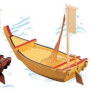 舟盛り 器 大安七福舟 白木 ABS樹脂64cm f6-530-3|fukuji-net