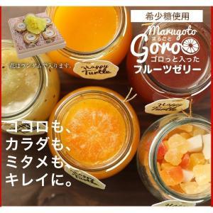 母の日 母の日ギフト プレゼント ギフト  希少糖入フルーツ ゼリー 5個入 内祝い|fukukame|03