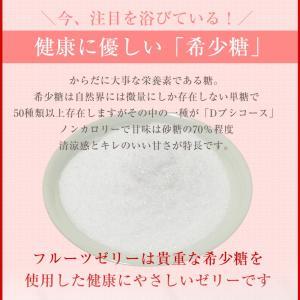 母の日 母の日ギフト プレゼント ギフト  希少糖入フルーツ ゼリー 5個入 内祝い|fukukame|09