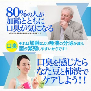 歯磨き粉 薬用 なたまめ 柿渋 口臭予防歯磨き 歯周炎防止 国内産|fukumimi-shoten|03
