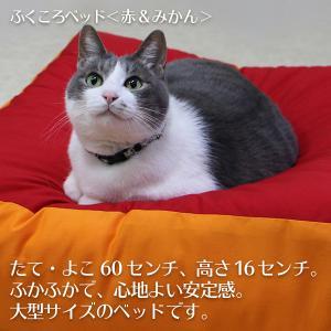 ふくころベッド(赤&みかん)|fukunekohonpo