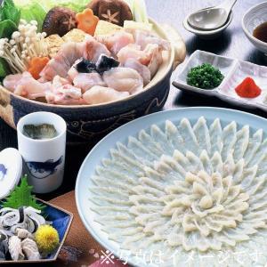 冷蔵便 活とらふぐ とらふぐ宅配Aセット (33cm陶器皿) 4〜5人前 国産 刺身 ふぐちり 皮刺し ふぐヒレ fukunosato