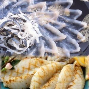 冷凍便 とらふぐ刺身とふぐ一夜干しセット|fukunosato
