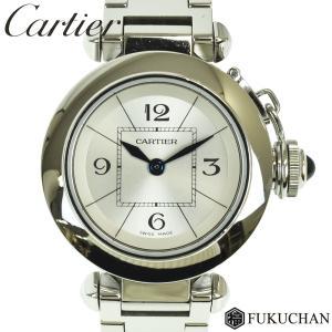 【Cartier/カルティエ】ミスパシャ ウォッチ シルバー...