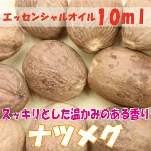 ナツメグ (10ml) エッセンシャルオイル|fukuoka-soleil-shop