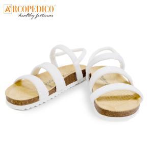 ARCOPEDICO アルコペディコ サルーテライン サンダル KIRYAS ホワイト 3731|fukuraku-store