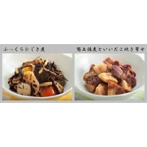 惣菜 和食 常温保存90日 非常食 レトルト食品  和食デリカ20個入 /内祝い/引き出物/非常食/おかず 写真カード無料作成 fukuraya 04