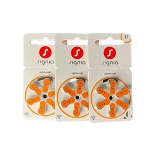 シバントス シグニア PR48(13) 補聴器用空気電池 オレンジ 3P PR48|fukushikun