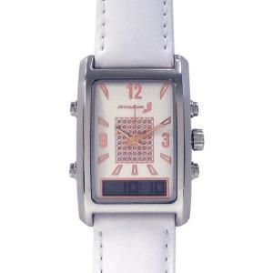 バイブラクオーツJ  パールホワイト 振動式腕時計 自立コム|fukushikun