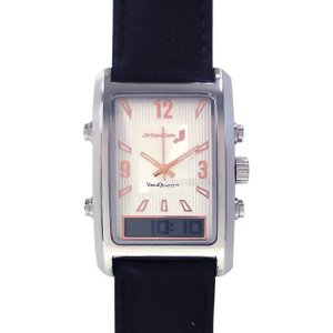 バイブラクオーツJ  黒 振動式腕時計 自立コム|fukushikun