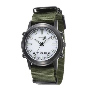 自立コム 振動腕時計 SAMURAI MAX カジュアルホワイト 白 J-SMAX_CW fukushikun