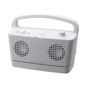 自立コム テレビ増幅器 サウンドアシスト ホワイト AT-SP767TVWH fukushikun