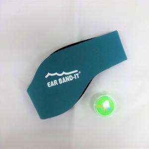 EAR BAND-IT 水泳用ヘッドバンド イヤーバンディット 緑 L Ear Band-it fukushikun