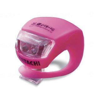 羽立工業 HATACHI ラージレンズLEDライト ピンク WH6100-64|fukushikun