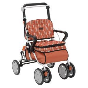 幸和製作所 テイコブ シルバーカー レコルティII オレンジ 高齢者向け ボックスタイプ SLT10|fukushikun