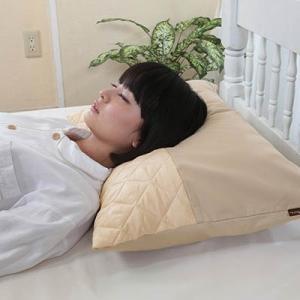 富士パックス オーラ岩盤あったかほぐし枕カバー 約43×63cm fukushikun