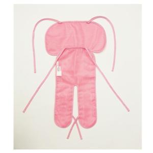 富士パックス クールでドライな清涼チャイルドシートパッド ギンガムチェック仕様 ピンク fukushikun