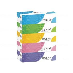 大王製紙 エリエールティシュー 180W 5P×12個 ケース販売 713616|fukushikun