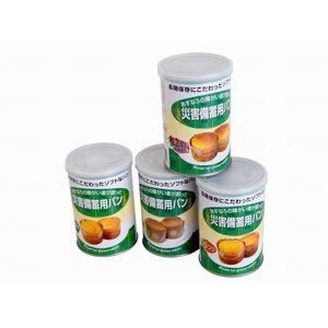 特殊衣料 災害備蓄用パン 24缶 ケース オレンジ|fukushikun