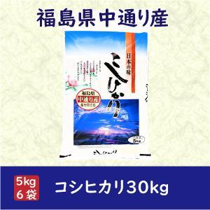 コシヒカリ 米 お米 白米30kg 小分け (5kg×6袋) 平成30年産 福島県中通り産|fukushima-bussan|02
