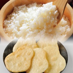 白河産コシヒカリとだるませんべいセット お中元/贈答品/ギフト/福島/送料込|fukushima-ichiba