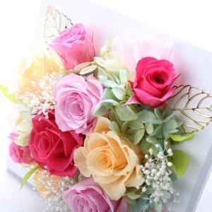 プリザーブドフラワーフレーム型スイートフェアリー 誕生日/記念日/母の日/贈答品/ギフト/福島/送料込 fukushima-ichiba