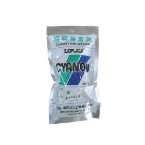 瞬間接着剤シアノン S 50g|fukushimakk