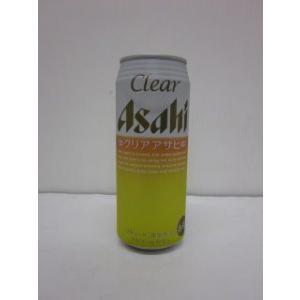 クリア・アサヒ  500ml缶(24本入)|fukushimasaketen