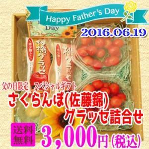 佐藤錦&稀少糖グラッセ詰合せ|fukushimasan