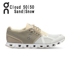 オン(On) Cloud 50 | 50 Sand | Snow 1999895W ウィメンズ クラウド ランニングシューズ 春夏 限定 カラー(1999895w)|fukuspo