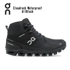 オン(On) Cloudrock Waterproof AllBlack 2399854M メンズ クラウドロック ウォータープルーフ ハイキングブーツ(2399854m)|fukuspo