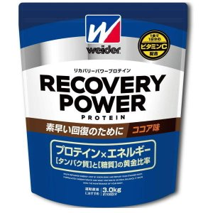 ウィダー(weider) お取り寄せ品 森永製菓プロテイン リカバリーパワープロテイン ココア味3.0kg 28MM12301(28mm12301-3000g) ウイダー|fukuspo
