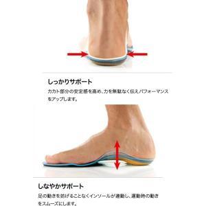 シダス(SIDAS) ゴルフ3D 326914 GOLF 3D インソール 中敷き ゴルフ(326914)|fukuspo|04
