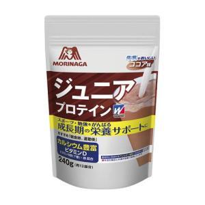 ウィダー(weider) 【お取り寄せ品】森永製菓プロテイン ジュニアプロテイン ココア味 240g 36JMM81301(36jmm81301) ウイダー|fukuspo