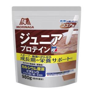 ウィダー(weider) 【お取り寄せ品】森永製菓プロテイン ジュニアプロテイン ココア味 980g 36JMM81302(36jmm81302) ウイダー|fukuspo
