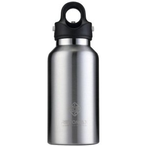 レボマックス(REVOMAX) 真空断熱 ボトル RevoMax2 DWF 12101B GA 355ml レボマックス2 水筒 ワンタッチ 保温 保冷(dwf12101b)|fukuspo