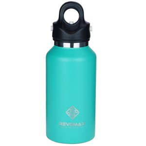 レボマックス(REVOMAX) 真空断熱 ボトル RevoMax2 DWF 12242B TI 355ml レボマックス2 水筒 ワンタッチ 保温 保冷(dwf12242b)|fukuspo