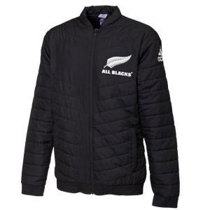 アディダス(adidas) ラグビー ALL BLACKS オールブラックス サポータースタジアムジャケット FXK28 DY3831(fxk28-dy3831)|fukuspo