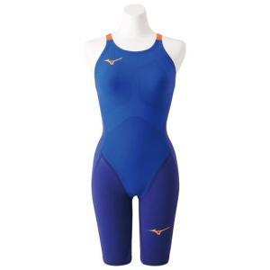 ミズノ(Mizuno) GX SONIC IV MR レディース ハーフスーツ N2MG9202 27 ブルー 競泳水着 スイム マルチレーサーモデル(n2mg9202-27)|fukuspo