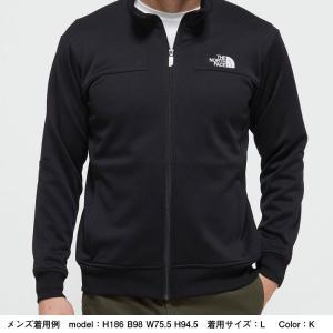 ノースフェイス(THE NORTH FACE ) お取り寄せ商品 ジャージ ジャケット メンズ NT12050 K Jersey Jacket ニット 静電 ストレッチ(nt12050-k)|fukuspo|02