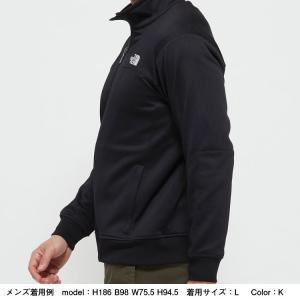 ノースフェイス(THE NORTH FACE ) お取り寄せ商品 ジャージ ジャケット メンズ NT12050 K Jersey Jacket ニット 静電 ストレッチ(nt12050-k)|fukuspo|03