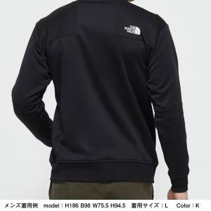 ノースフェイス(THE NORTH FACE ) お取り寄せ商品 ジャージ ジャケット メンズ NT12050 K Jersey Jacket ニット 静電 ストレッチ(nt12050-k)|fukuspo|04