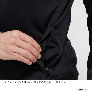 ノースフェイス(THE NORTH FACE ) お取り寄せ商品 ジャージ ジャケット メンズ NT12050 K Jersey Jacket ニット 静電 ストレッチ(nt12050-k)|fukuspo|05
